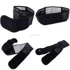 Lumbar Lower Back Support Brace Breathable Waist Brace Belt Double Pull S-XL
