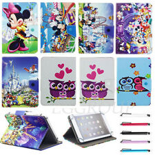 """Xmas Gift For Acer Iconia 7"""" Tablet Cartoon Disney PU Leather Stand Case Cover"""