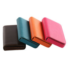 New Pocket PU Leather Business ID Credit Card Holder Case Wallet wb