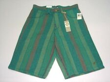 (FREE SHIPPING) New LIFTED RESEARCH GROUP (L-R-G) GROW WITH US SHORTS AQUA GREEN
