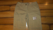 White Stag Khaki Casual/Comfort/Work Pants-Beige/Tan-Size 4 Petite-Boot Cut-New!