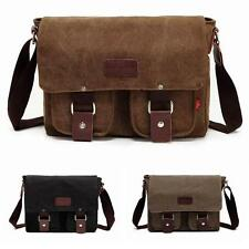 Vintage Unisex  Canvas Messenger Bag School Single Shoulder Casual Bag