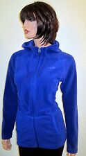 Womens The North Face TKA 100 Texture Masonic Hooded Jacket Polartec Fleece Sz M