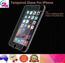 2x Tempered Glass Screen Protector For iPhone 7 Plus iPhone 6 6s iPhone 6 Plus