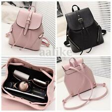 Women Girl  Leather Backpack School Shoulder Bag Travel Bookbag Rucksuck Handbag