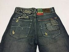 """(FREE SHIPPING) New LIFTED RESEARCH GROUP (L-R-G) """"HUSTLE TREES"""" JEAN C47 FIT"""