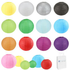"10 pcs 6"" 8"" 10"" 12"" 14"" 16"" 18"" 20"" Chinese Paper Lantern Wedding Party Decor"