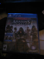 ASSASSINS CREED SYNDICATE PS4 GAME LIMITED EDITION BRAND NEW SEALED PLAYSTATION