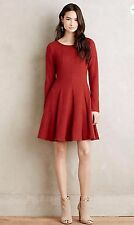 NWT Anthropologie Piper Dress by Dolan Left Coast Collection Size S, M, L Red