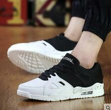 Fashion Men's Casual Flats Shoes Running Sports Breathable High top shoes CH48