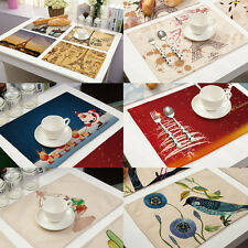 Tableware Placemats Insulation Place Mat Pad Table Coasters Kitchen Dining Decor