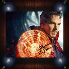Benedict Cumberbatch Doctor Strange Signed Autographed Framed Photo/Canvas Print