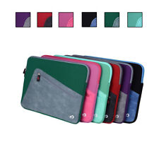 Neoprene Sleeve Cover with Pocket fits Slim 13 Inch Laptop, Notebook, Ultrabook