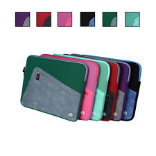 Neoprene Sleeve Cover Case w/ Front Pocket fits Acer Chromebook 13.3 Inch Series