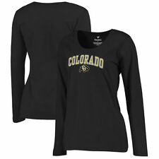 Colorado Buffaloes Women's Black Campus Long Sleeve T-Shirt