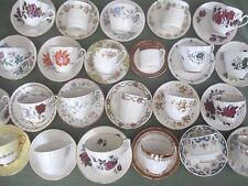 VINTAGE CHINA  CUPS AND SAUCERS - TEA PARTIES, WEDDINGS, ETC