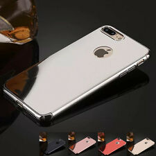 Slim Electroplating Mirror Hard Protective Back Case Cover for iPhone 7 7 Plus