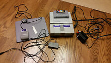 Super Nintendo SNES Lot! Tested working condition! Mario Paint, mouse, wires!