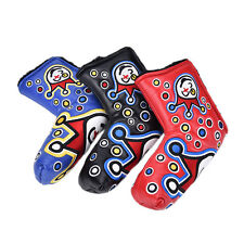 3colours Golf Putter Cover Headcover for Blade Golf Putter Golf Placticju h