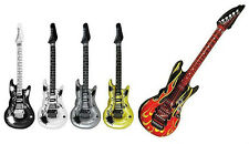 Inflatable Guitar 106cm - Choose From 5 Colours: Fancy Dress, Air Guitar