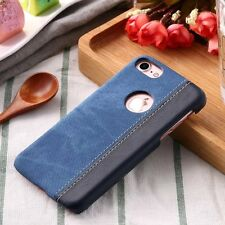 New Denim Leather Hard Cover For Phone Protective Case For Apple iPhone 7 7 Plus