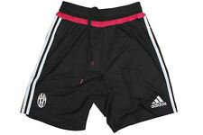 adidas Juventus Adizero Training Shorts 2015 2016 Mens Black/Wht Football Soccer