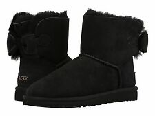 Women's Shoes UGG Naveah Mini Bow Boots 1012808 Black 5 6 7 8 9 10 *New*