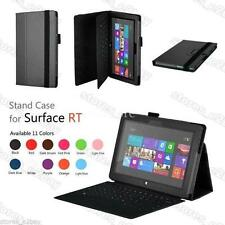 """Folding STAND LEATHER CASE COVER HOLDER FOR Microsoft Surface RT 10.6"""" Tablet"""