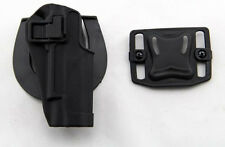 Quick Draw Tactical Right Hand Belt Holster w Paddle for Colt 1911 M1911
