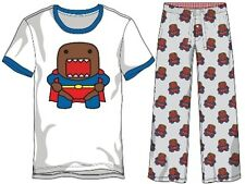 Domo in Superman Costume Pajama Set Ringer t-shirt and pajama pants XL XLARGE