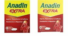 Anadin Extra Caplets For Headaches Muscle Aches & Pain 545mg Uk