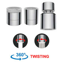 Dual-function 2-Flow Faucet Aerator,Water Saving Kitchen Sink Aerator Replacemet