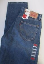 NWT Levis 550  Relaxed Fit  Jeans Tapered Leg Sz 31x34 32x36
