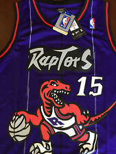 NBA Toronto Raptors Vince Carter Throwback Jersey Sewn/Stitched NWT