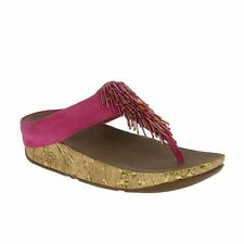 FitFlop Cha Cha Bubblegum Womens Sandals