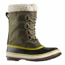 Sorel Winter Carnival Olive Womens Boots