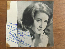 Authentic LESLEY GORE Autograph 1963 from Birmingham