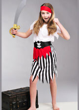 Childs Size Pirate Girl Fancy Dress Costume