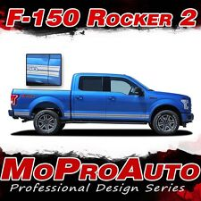 2015-2018 Ford Truck F-150 ROCKERS Vinyl Graphics Stripes 3M Decals | PDS3524