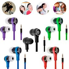 3.5mm Stereo Headphone Earphone In Ear Headset Earbud For Cellphone Tablet MP3