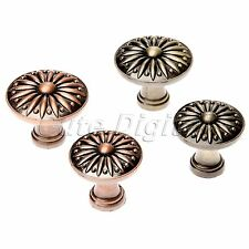 Vintage Classical Round Style Pull Handles Cabinet Drawer Door Knobs Hardware