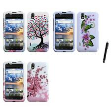 For LG Optimus Black P970 Design Snap-On Hard Case Phone Cover Stylus Pen