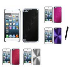 For Apple iPod Touch 5th 6th Gen Aluminum Armor Cosmo Slim Hard Case Stylus Pen