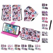 For iPhone 6 (4.7) Wallet Design Case With ID Card Slots Pockets Stylus Pen