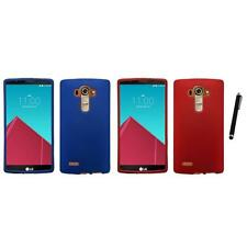 For LG G4 Snap-On Hard Case Phone Skin Cover Accessory Stylus Pen