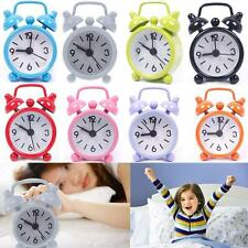 Lovely Colorful Mini Cartoon Dial Number Round Desk Alarm Clock