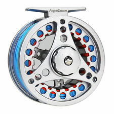 Fly Fishing Reel Combo 5/6/7/8WT Large Arbor Aluminum Reel & Fly Line & Backing