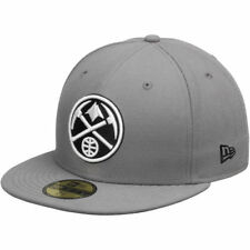 New Era Denver Nuggets Gray/Black 59FIFTY Fitted Hat