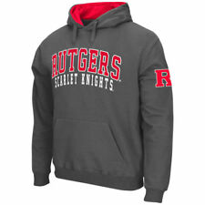 Stadium Athletic Rutgers Scarlet Knights Charcoal Double Arches Pullover Hoodie