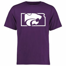 Kansas State Wildcats Purple College Tradition State Short Sleeve T-Shirt